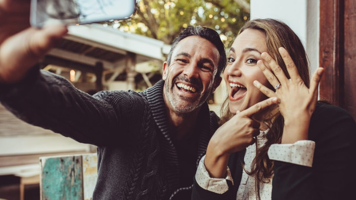 how to celebrate an engagement without a party